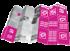 Template scaricabile per mappa tascabile personalizzata