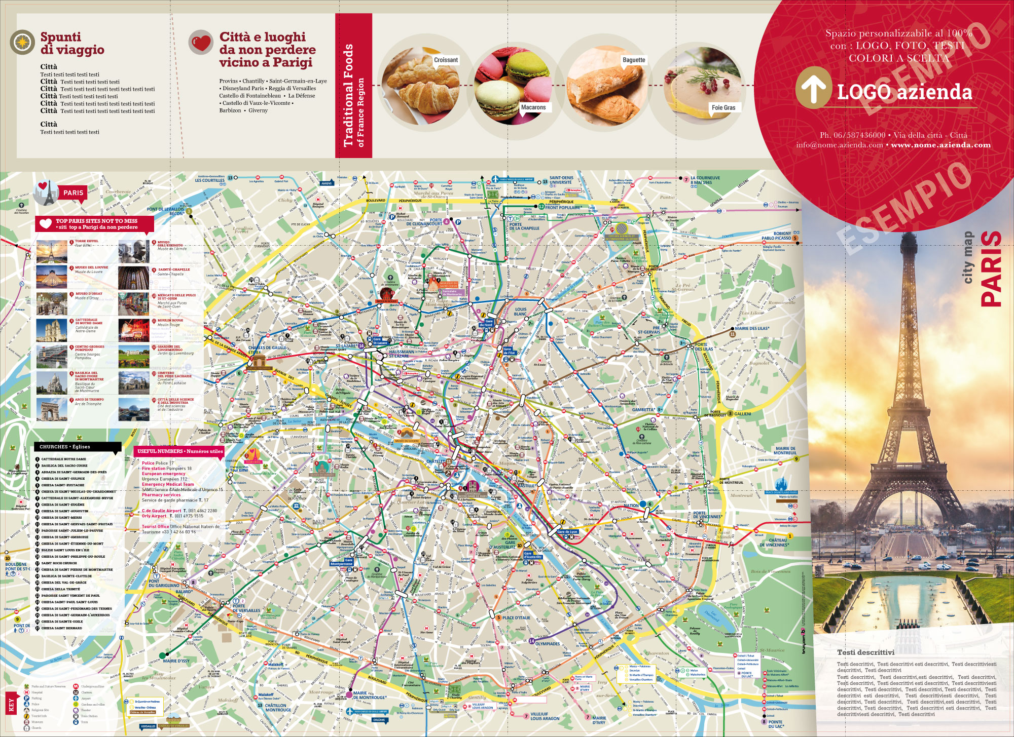 mappa di parigi cartina di parigi personalizzata