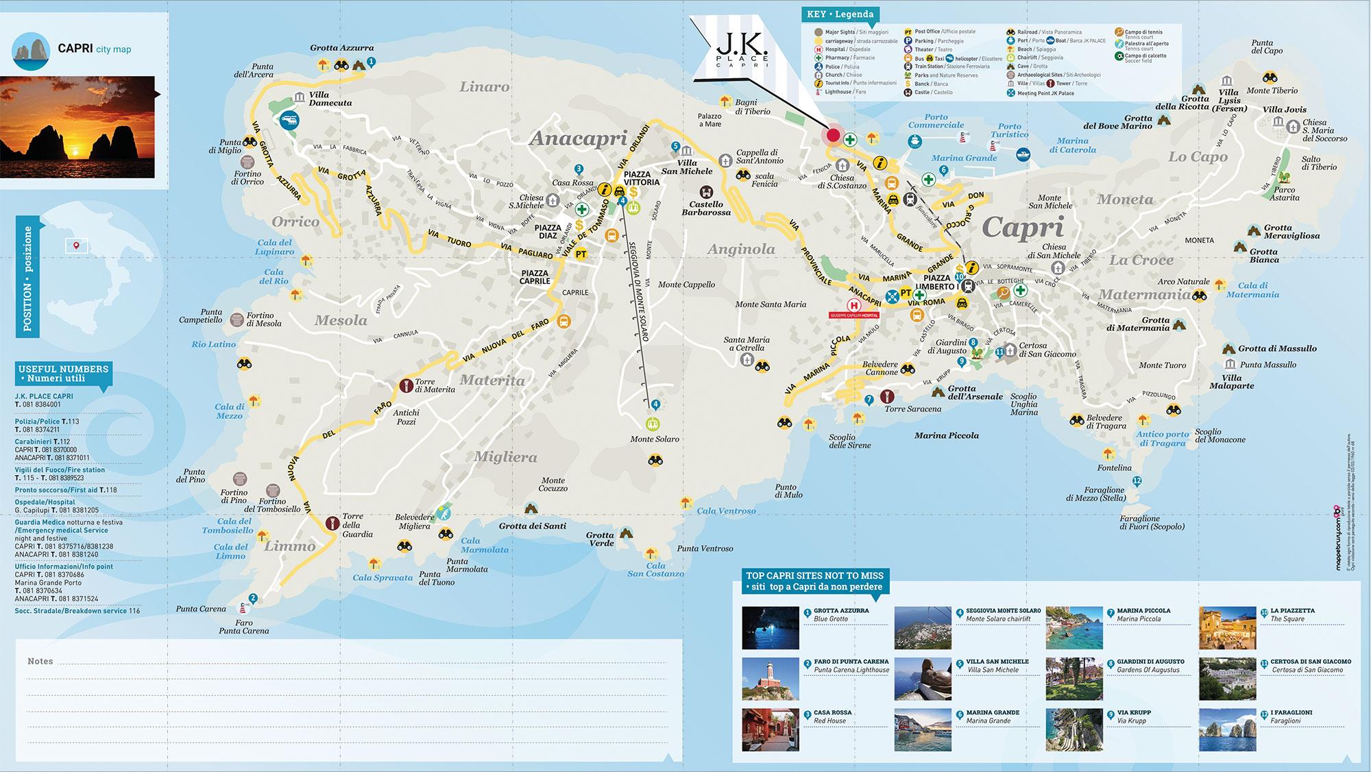 Jk Place mappa Brusy