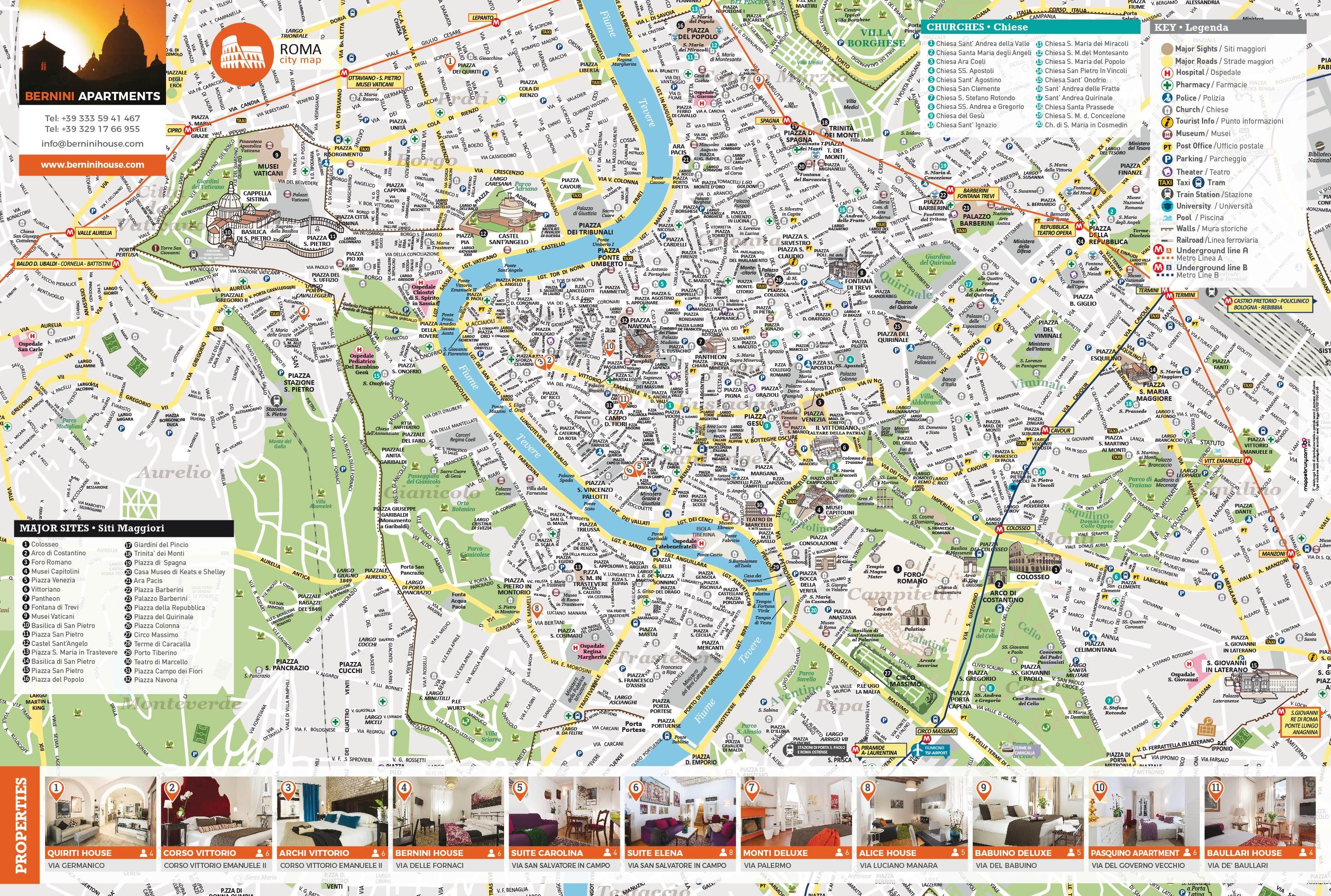 Cartina Stradale Roma Centro.Piantina Di Roma Da Scaricare Bigwhitecloudrecs